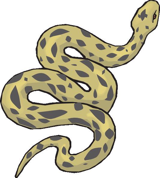Snake Clip Art At Clkercom Vector Online Royalty Free