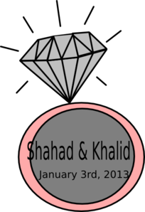 Diamond Ring-ashraf Clip Art