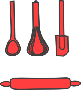 Bakery Red Clip Art