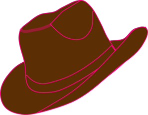 cowgirl hat and boot clip art at clker com vector clip art online rh clker com free clipart cowgirl boots