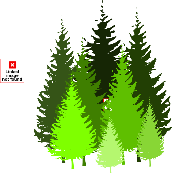 Pine Tree Grouping By Atom Clip Art at Clker.com - vector ...