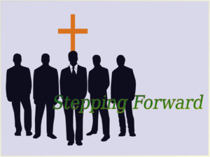 Stepping Forward Clip Art