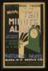 The Federal Theatre Div. Of W.p.a. Presents  Ten Minute Alibi  [by] Anthony Armstrong A Startling Mystery In 3 Acts. Clip Art