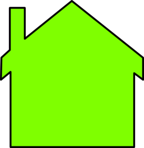 New House Outline Clip Art