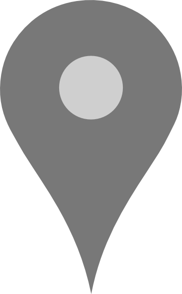 Google Map Pointer Grey Clip Art At Clker Com Vector