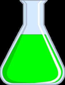 Химия Flash - зеленый клип