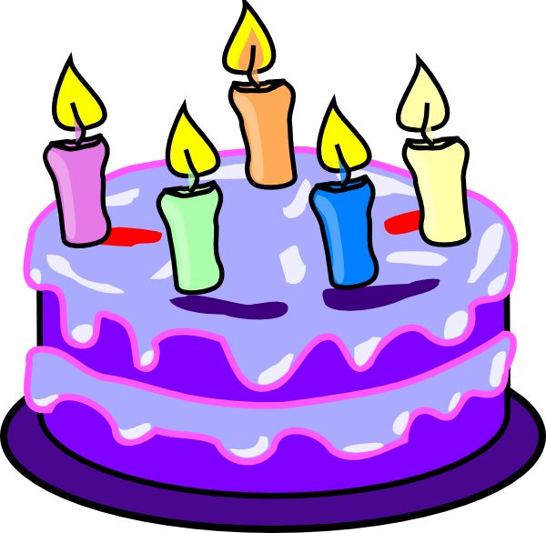 Birthday Cake Clip Art at Clker.com - vector clip art online, royalty ...