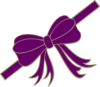 Purpleribbon Clip Art
