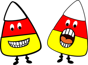 Candy Corn People Clip Art