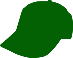 Green Baseball Cap Clip Art
