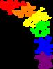 Rainbow Butterfly Clip Art at Clker.com - vector clip art ...