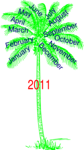 Year Tree Clip Art
