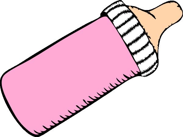 Pink Baby Bottle Clip Art at Clker.com - vector clip art ...