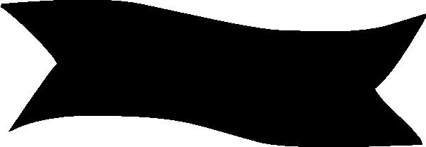 Banner Black Clip Art at Clker.com - vector clip art ...