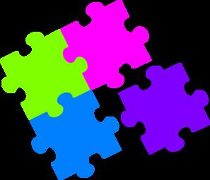 jigsaw puzzle color clip art at clker com vector clip art online rh clker com jigsaw puzzle outline clipart jigsaw puzzle outline clipart