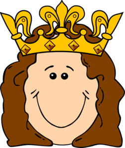 cartoon queen crown clip art at clker com vector clip art online rh clker com queen clipart crown queen clipart black and white