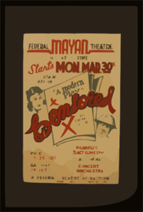 Federal Mayan Theatre [presents] Censored,  A Modern Play   By Conrad Seiler Hilarious 3 Act Comedy. Clip Art