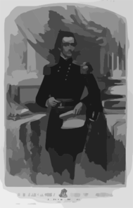 His Excellency General William Sprague Clip Art