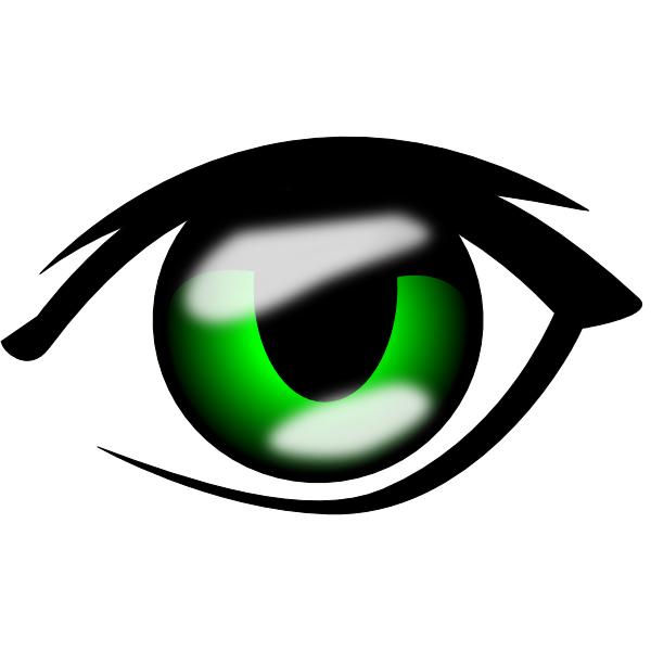 anime eyes clipart - photo #2