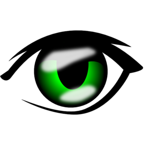 Anime Eye Clip Art