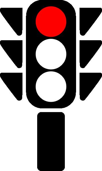 traffic semaphore red light clip art at clker com vector clip art rh clker com spotlight clipart spotlight clipart