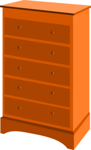 Chest Of Drawers Clip Art