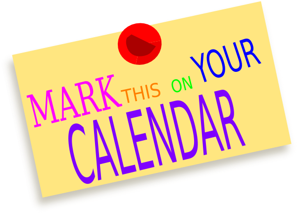 important dates clip art - photo #38