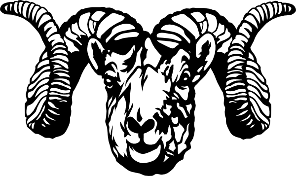 Rams Head Clip Art at Clker.com - vector clip art online ...