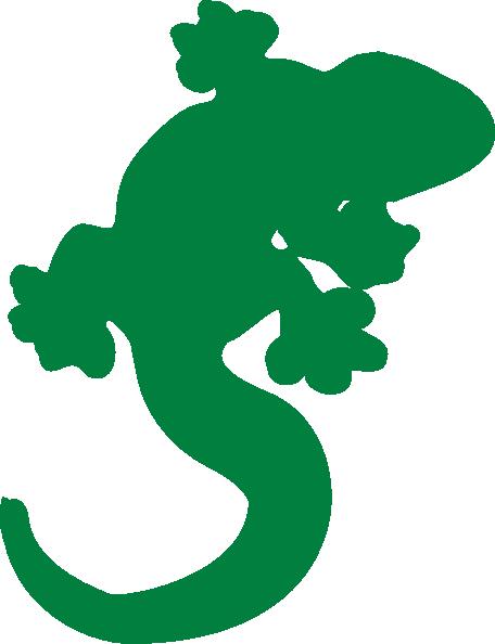 gecko clip art at clker - vector clip art online, royalty free