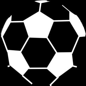 black and white soccer ball clip art at clker com vector clip art