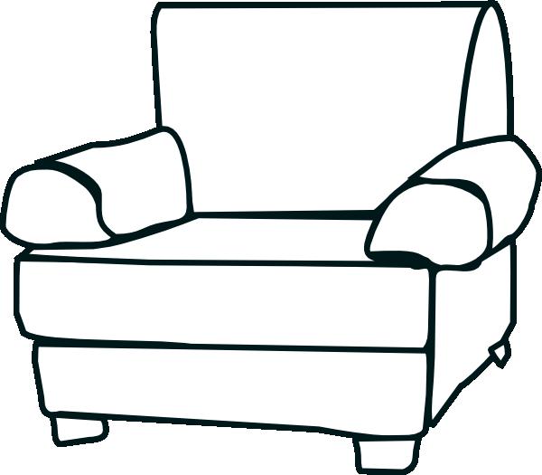 Armchair Clip Art at Clker.com - vector clip art online ...