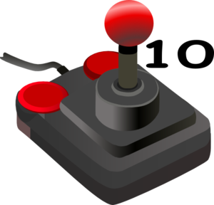 Joystick Ten Clip Art