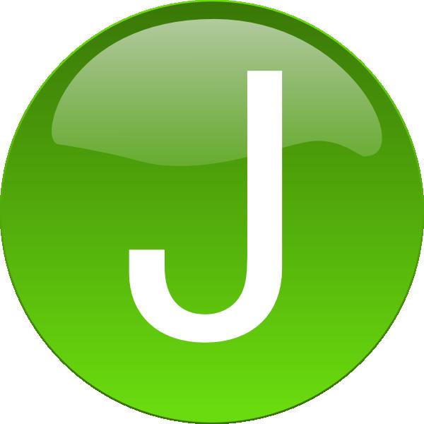 Green J Clip Art at Clker.com - vector clip art online ...