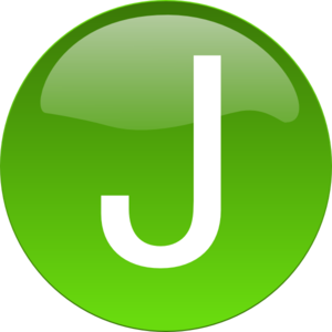 Green J Clip Art at Clker.com - vector clip art online, royalty free ...