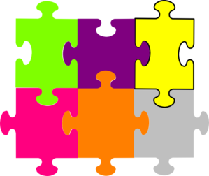 Jigsaw Puzzle 6 Pieces Clip Art