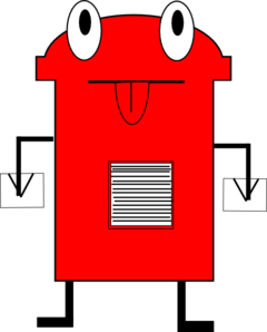 Post Box Clip Art