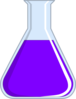 Chemistry Flash Purple Clip Art