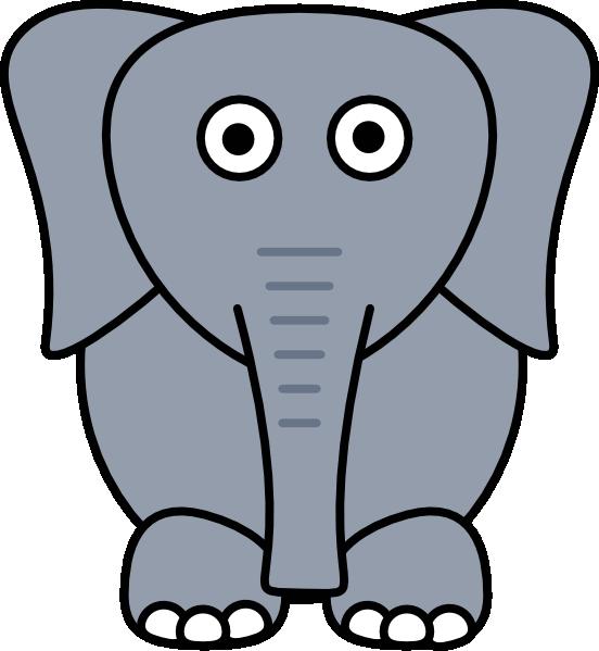 gray elephant free clip art - photo #17