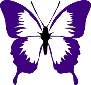 purple butterfly clip art at clker com vector clip art online rh clker com butterfly clipart images butterfly clipart images