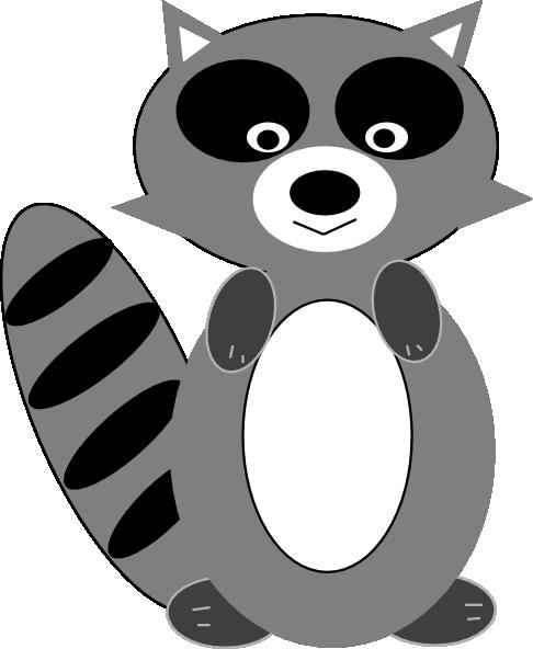Raccoon Clip Art at Clker.com - vector clip art online ... Raccoon Face Clip Art