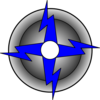 Black Lightning Bolt 11 Clip Art