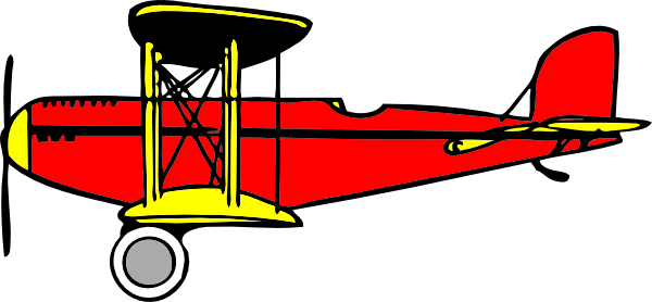 biplane clip art at clker com vector clip art online royalty free rh clker com airplane clipart no background airplane clip art black and white