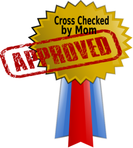 Approved By Mom Clip Art