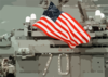 U.s. National Ensign Aboard Uss Carl Vinson Clip Art