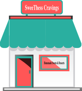 Homemade Sweets Shop Clip Art