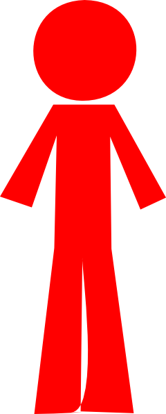 Person Stick Red Clip Art at Clker.com - vector clip art ...