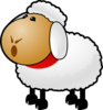 Sheep Talking Clip Art