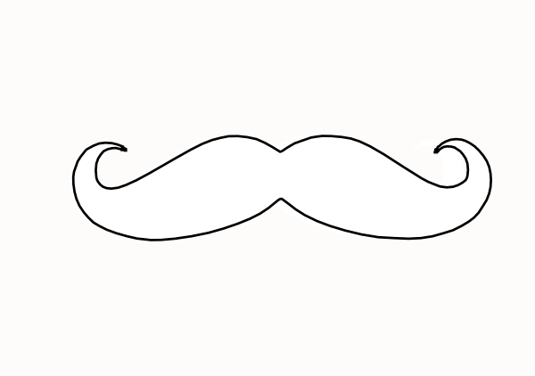 moustache coloring pages mustache free coloring pages