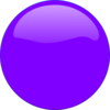 Purple Circle Icon Clip Art