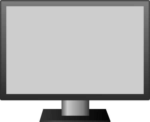 tv clipart black and white. download this image as: tv clipart black and white